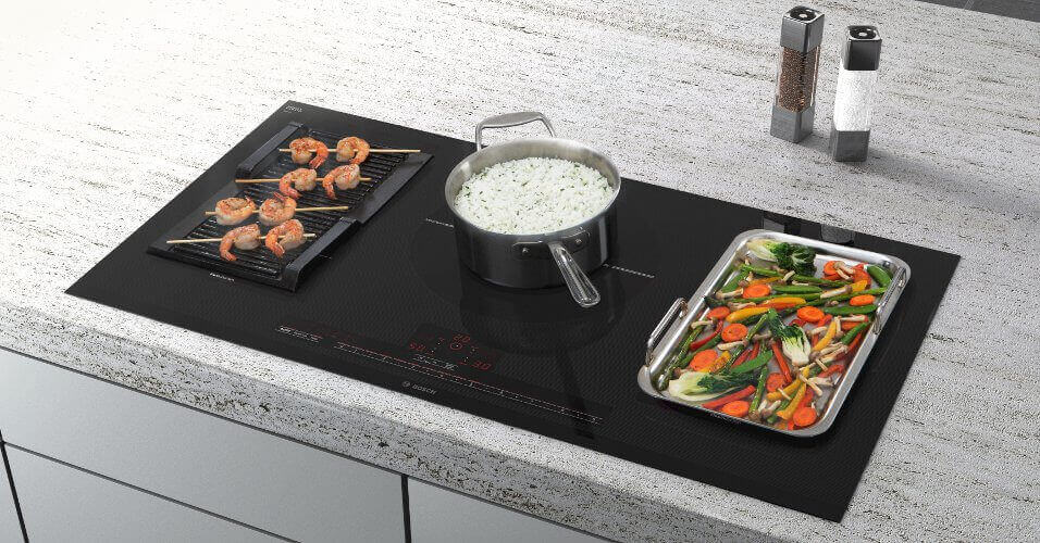 Bosch Flexinduction Cooktops