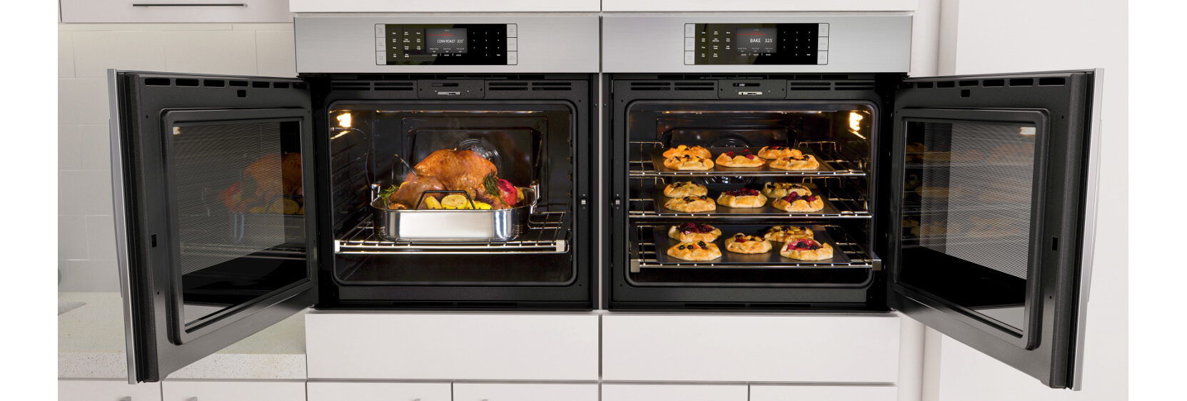 Bosch Wall Ovens With Side Opening Door