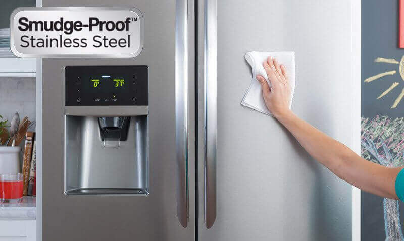 Smudge-Proof Stainless Steel In Frigidaire Professional & Frigidaire Gallery