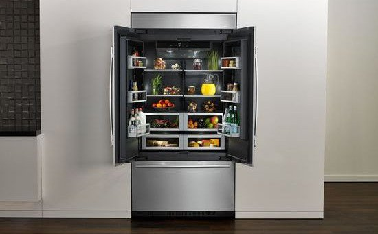 Jenn-Air Refrigeration And New Obsidian Interior