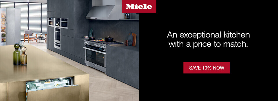 Save 10% On A Qualifying Miele Kitchen Package Of Your Choice. See Full  Details.