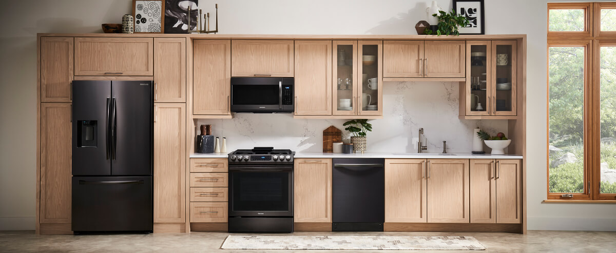 Samsung Black Stainless Appliances