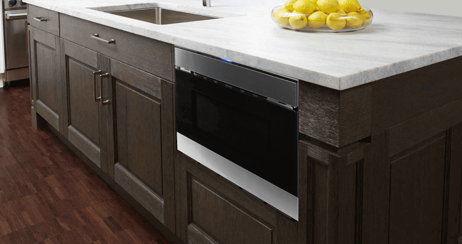 The Sharp Easy Wave Open Microwave Drawer Oven