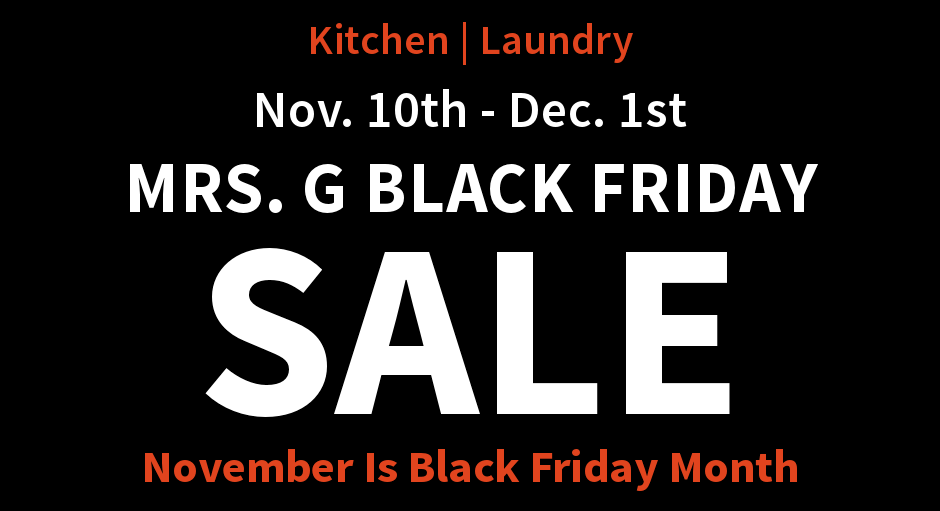 81b0fb13bb44c Black Friday Appliance Sale in Lawrence Township, New Jersey (NJ) | Mrs. G's