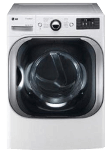 LG 9.0 Cu. Ft. Mega Capacity Electric Dryer with Steam